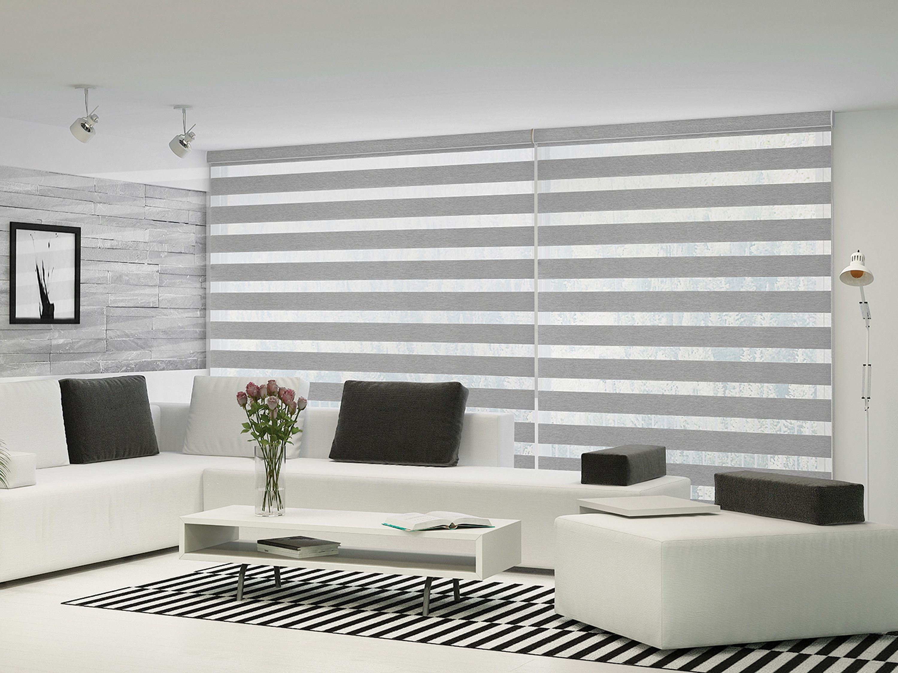 Alpha blinds interiors blinds shades for Decor blinds and shades