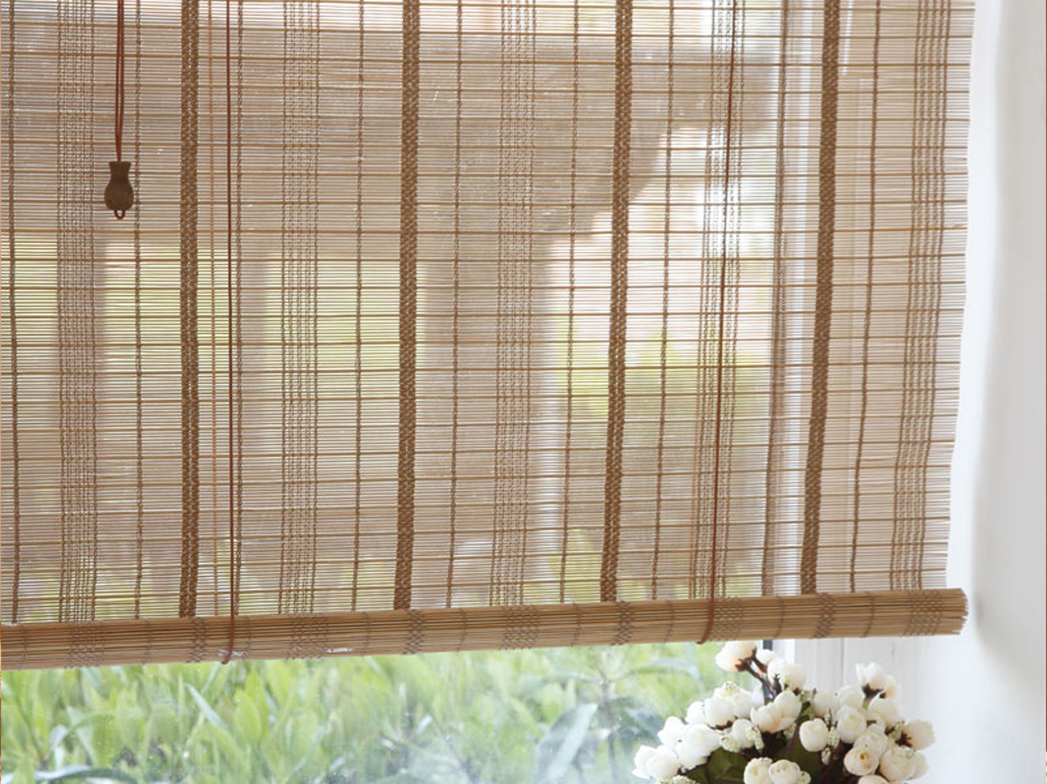 bamboo blind deluxe product blinds w drop mm x outdoor img